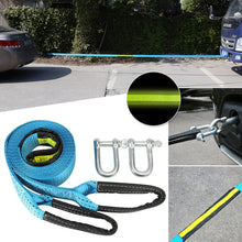 Load image into Gallery viewer, Towing Strap With Luminous U-Hook