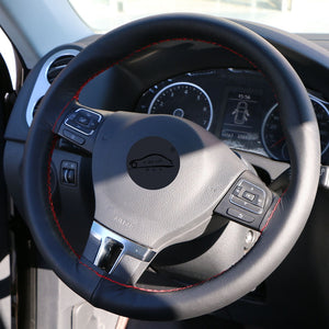 Micro Fiber Leather Steering Cover