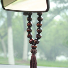 Load image into Gallery viewer, Wood Buddha Beads Ornament