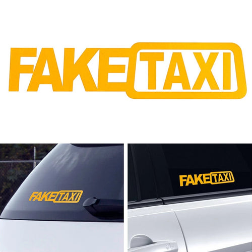 Fake Taxi Sticker