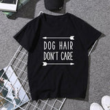 "T-Shirt ""Dog Hair Don't Care"""