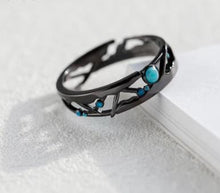 Load image into Gallery viewer, Sterling Silver Milky Way Ring