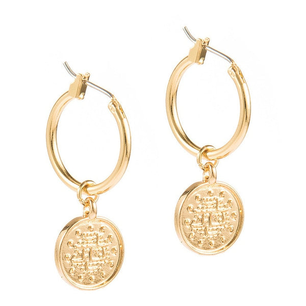 Romantic Small Hoop Earrings