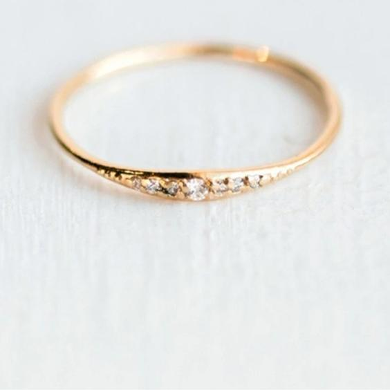Sterling Minimalist Stacking Ring