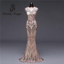 Load image into Gallery viewer, Elegant Long Evening Dress
