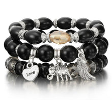 Load image into Gallery viewer, Crystal Bead, Tassel, Natural Stone, Charms Bracelets