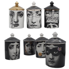 Load image into Gallery viewer, Fornasetti Lidded Art Jar