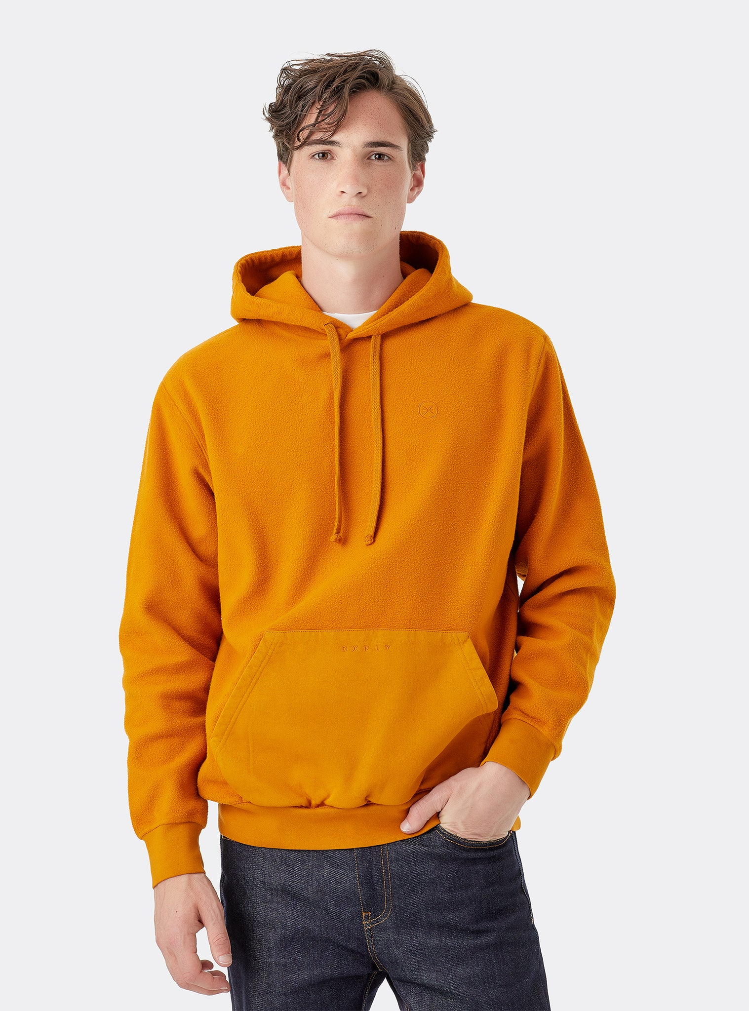 Itinerant Sweat Hoodie Amarelo