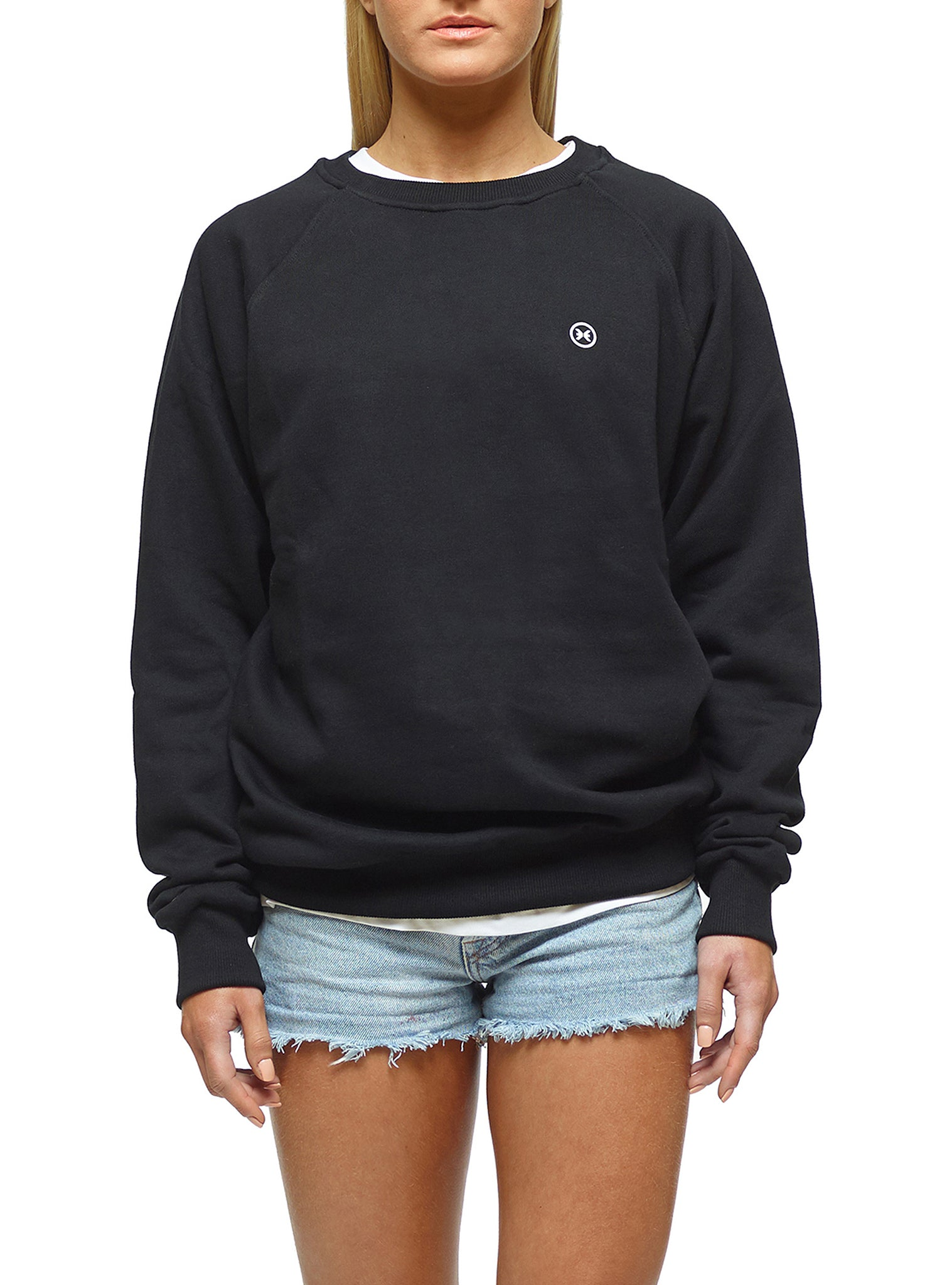 Sweat Sweat Crewneck Preto