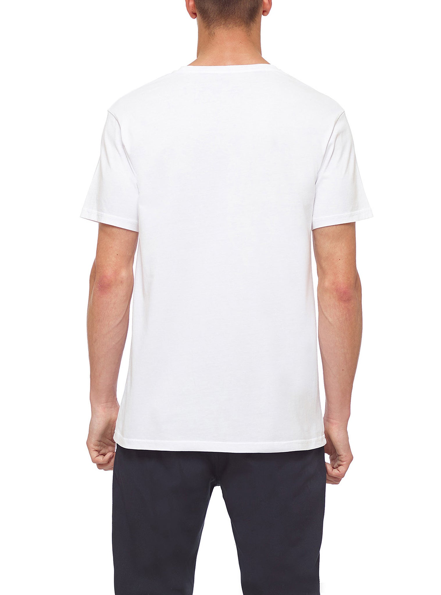 Concrete Triangle T-shirt Branco
