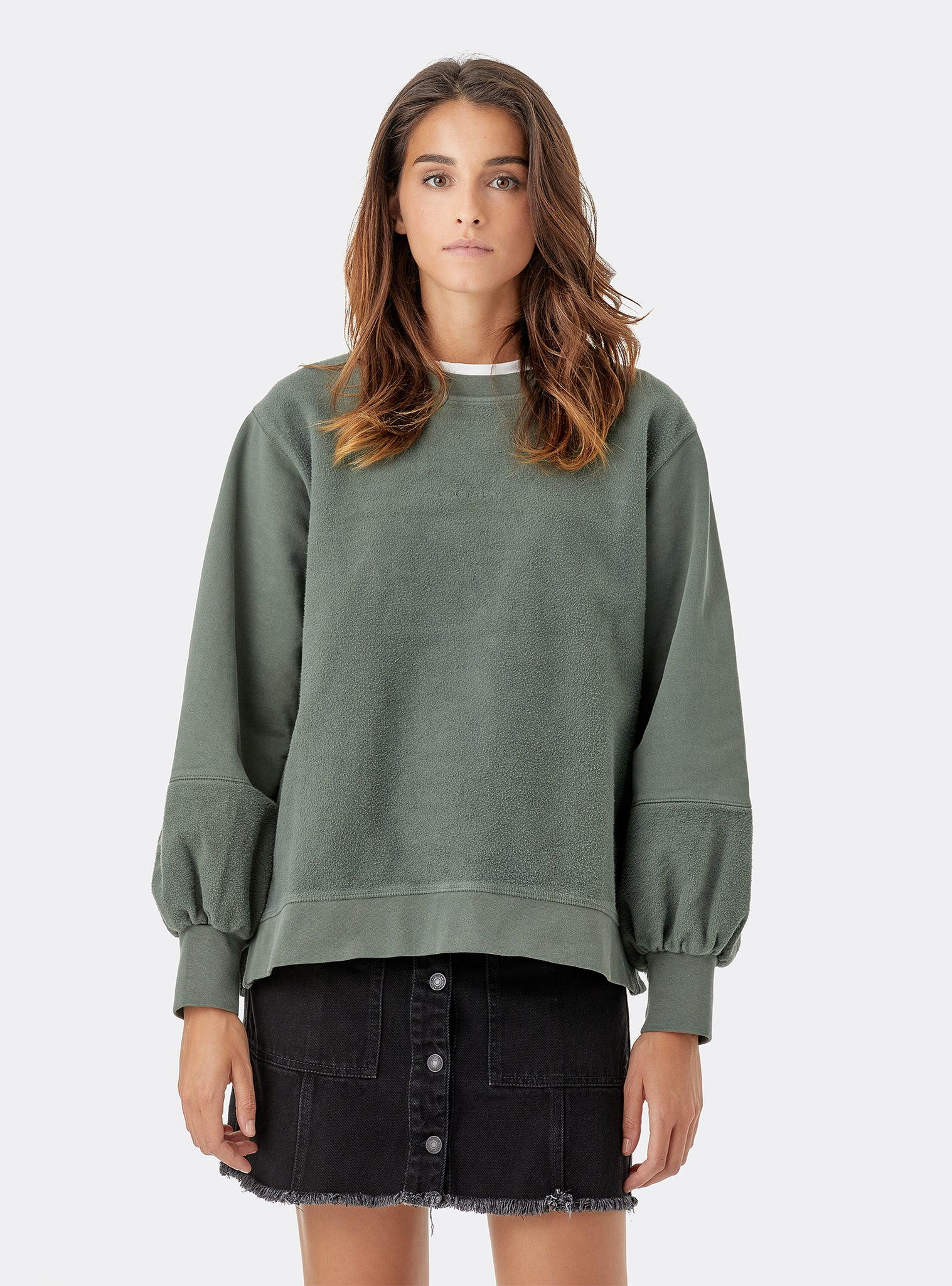 Way Sweat Crewneck Verde