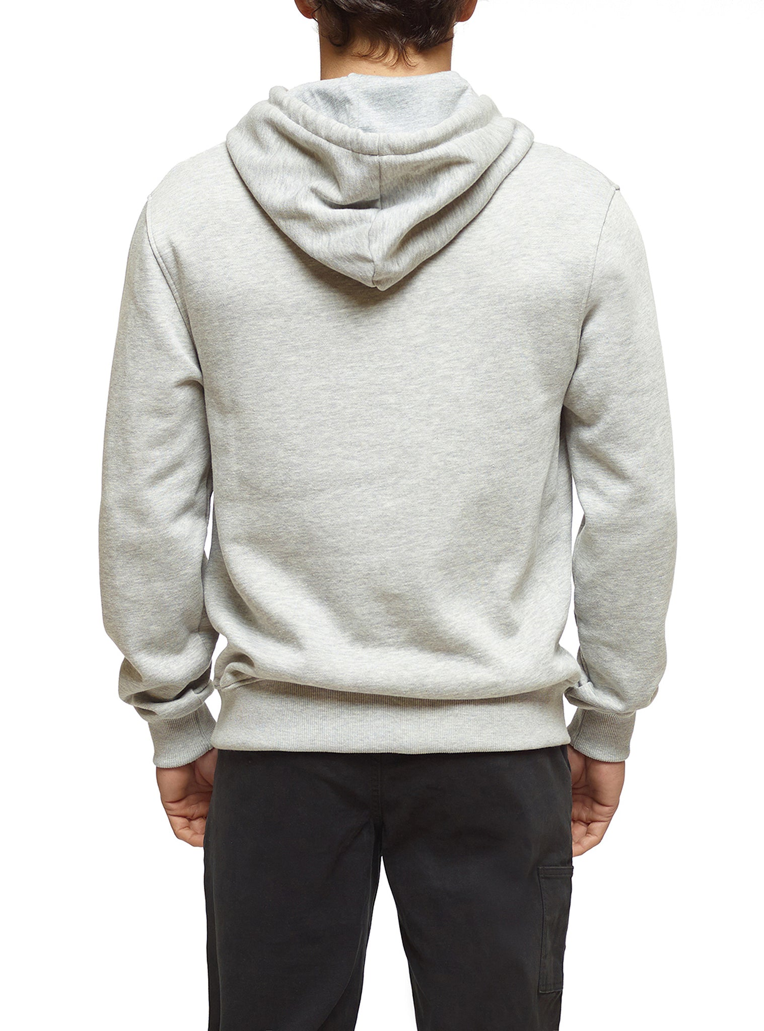 Embroidery Sweat Hoodie Cinzento