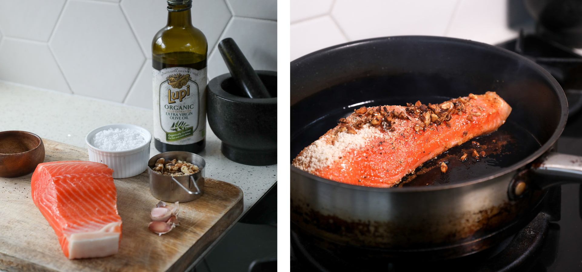 seed-cycle-blend-best-PMS-supplement-Seed-Cycling-Coated-Salmon-Garlic-Walnut-Dinner-Quick
