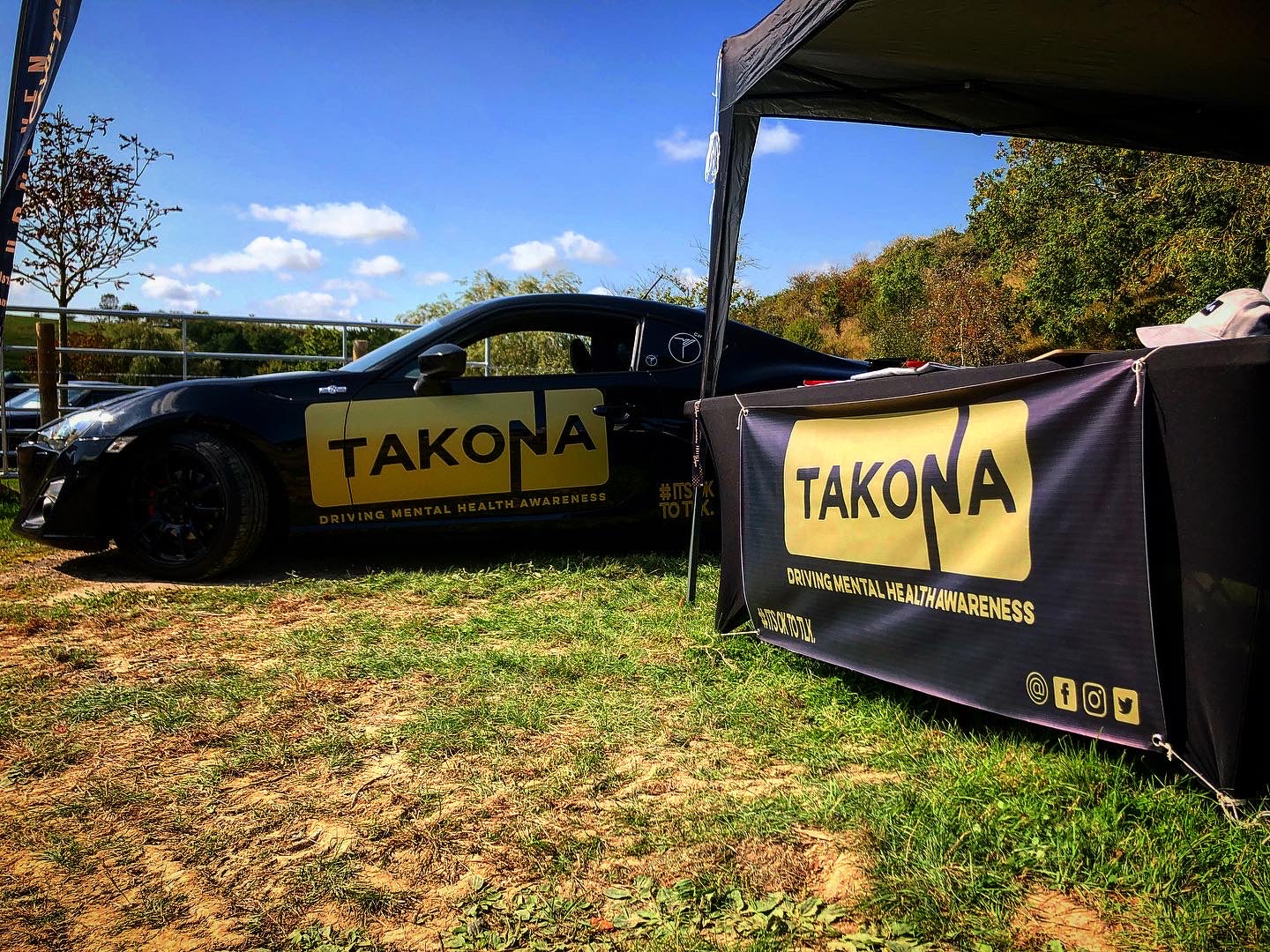 Takona GT86 along with Takona Stand at Fuel Fest 2020