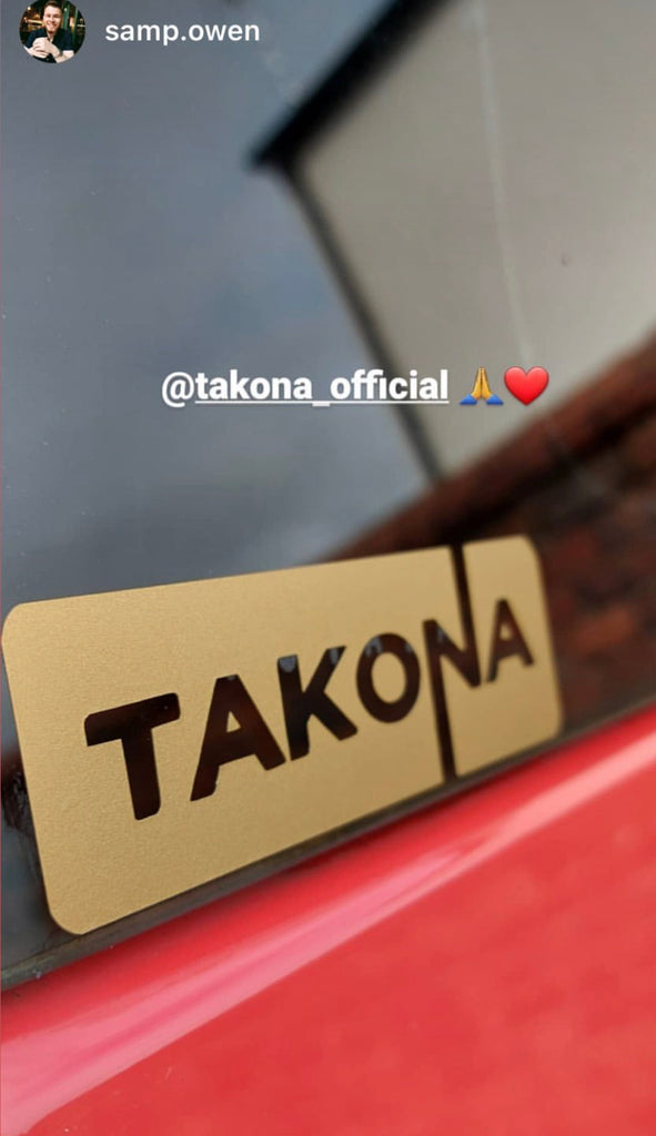 Takona Logo Sticker