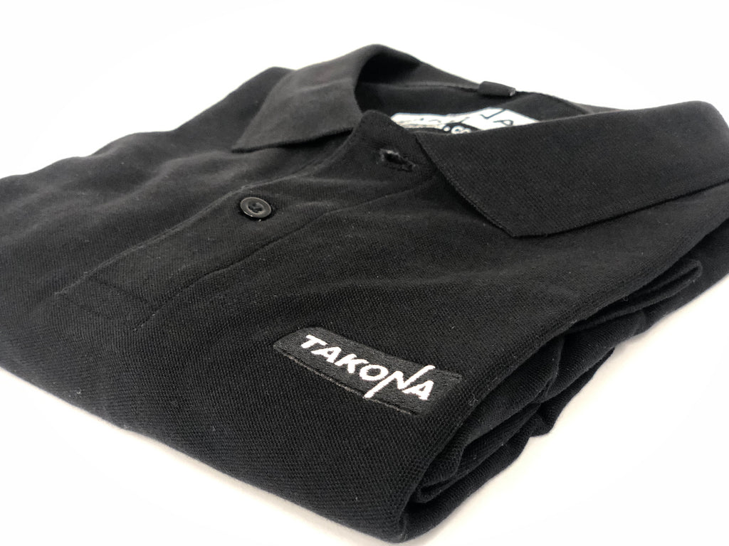 Takona Embroidered Logo Polo