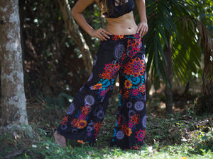 MANDALA Flares - Hippie Harem Pants, Hippie Yoga Pants, Fisherman Pants, Boho Trousers, Aladdin Trousers, Festival Clothing, Psytrance