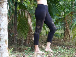 MANDALA Leggings - Hippie Yoga Pants, Festival Leggings, Psytrance Leggings, Yoga Pants, Flow Leggings, Festival Clothing, Pixie, Psy