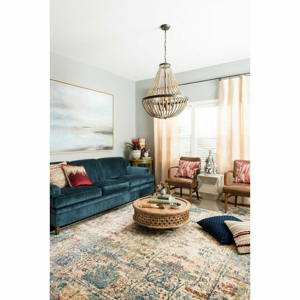Loloi Anastasia AF-07 Transitional Power Loomed Area Rug