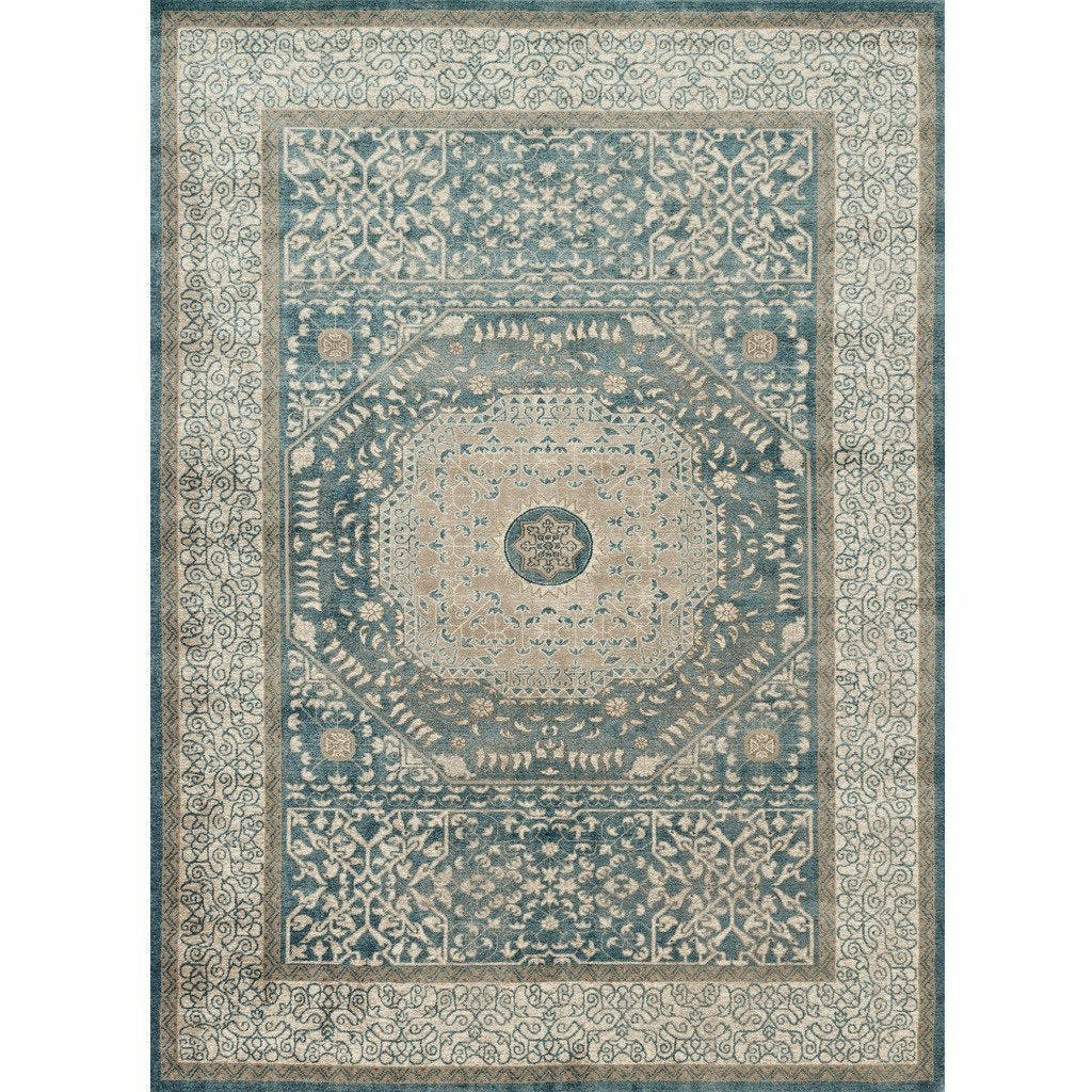 Loloi Century CQ-01 Transitional Power Loomed Area Rug