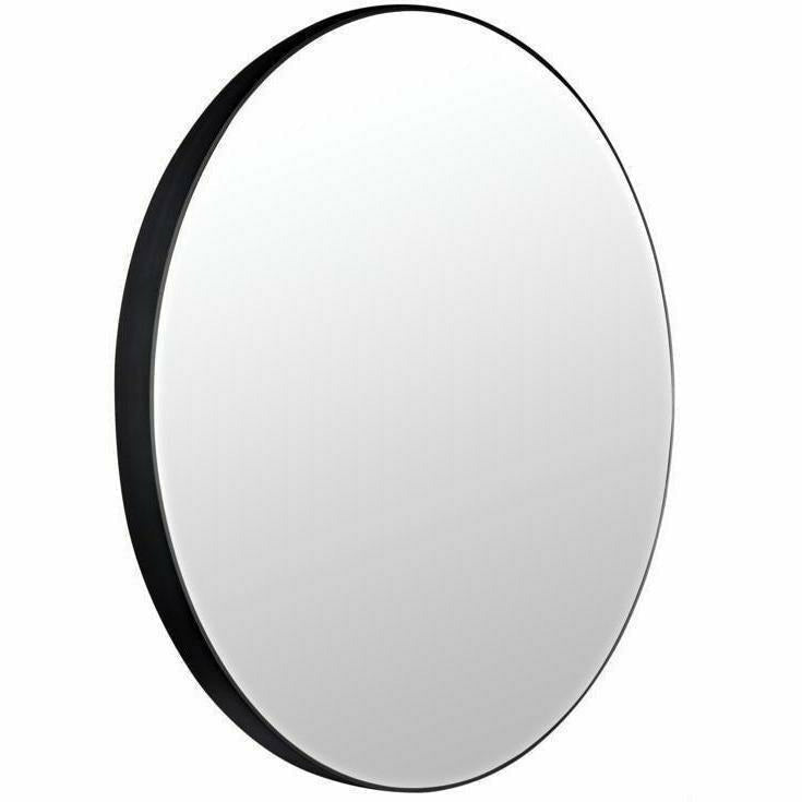 "CFC Argie Round Mirror, Large, Steel, 48"" Diameter"