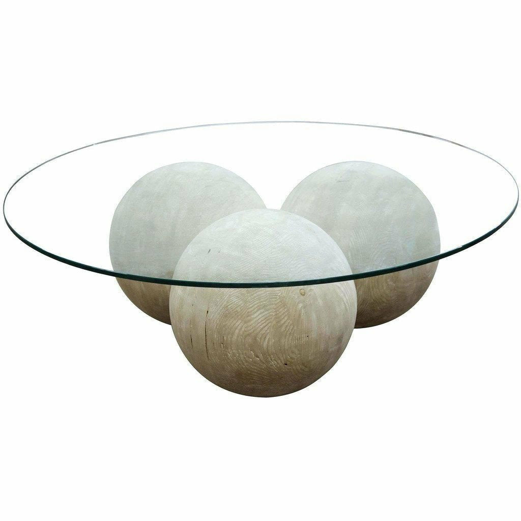 CFC Reclaimed Lumber Allium coffee table/Glass Top-Coffee Table-CFC-Heaven's Gate Home