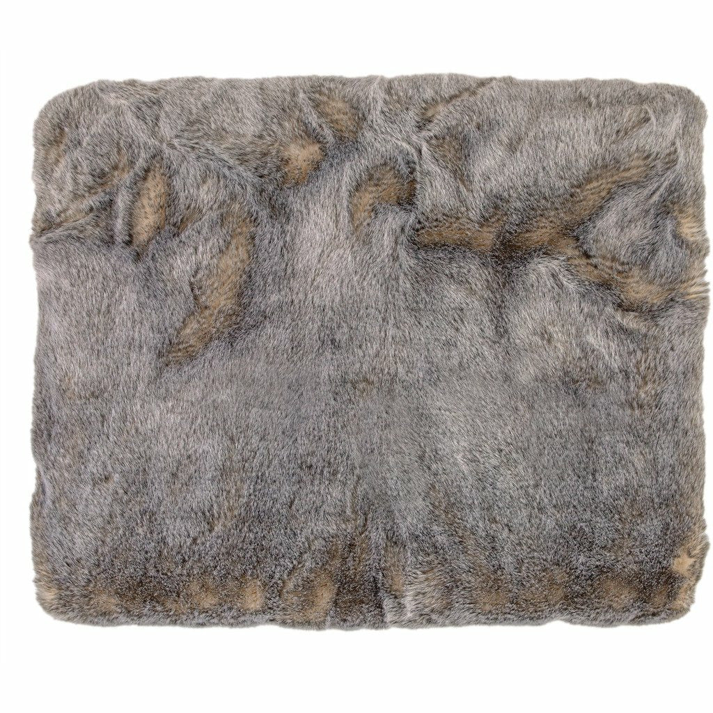 Bedford Collections Okemo Thick and Soft Faux Fur Throw