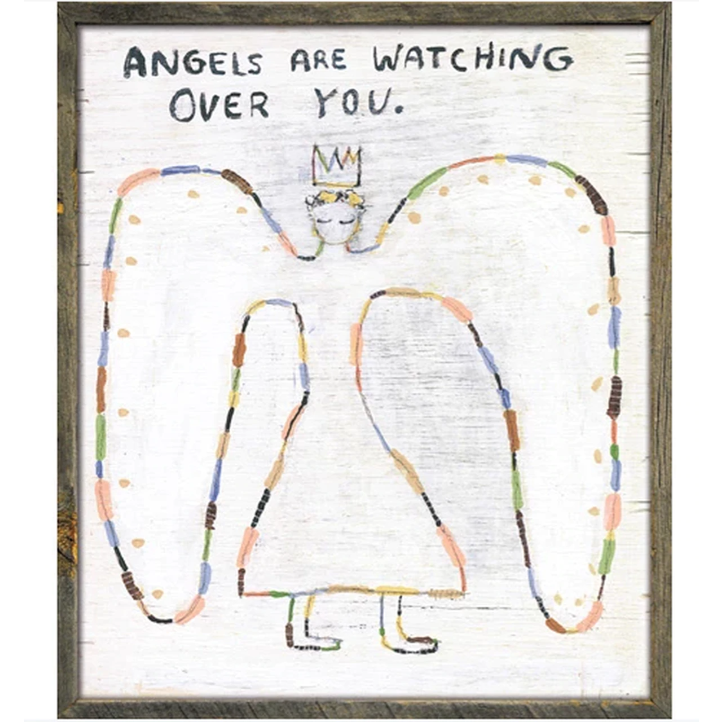 Art Print - Angels Are Watching