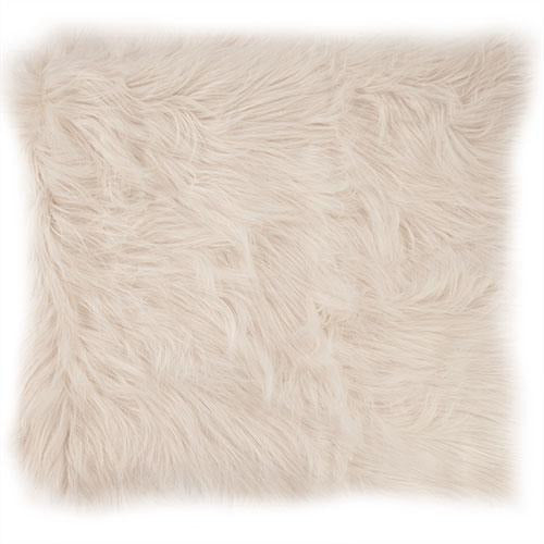 Bedford Collections Siberia Luxury Faux Fur Pillow, Set/2