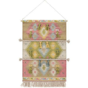 Surya Adia DIA-1002 Hand-Woven Wall Hanging-annieandel