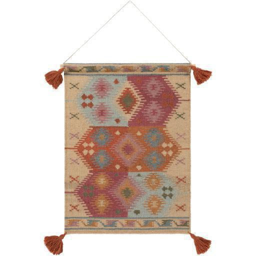 Surya Adia DIA-1008 Hand-Woven Wall Hanging-annieandel