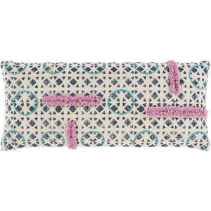 Surya Phoebe PHB-003 Cotton Global Pillow-annieandel