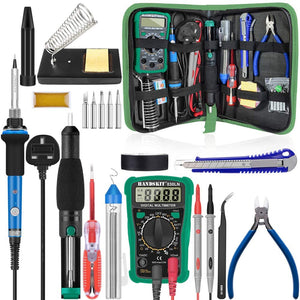 Soldering Iron Kit with Multimeter