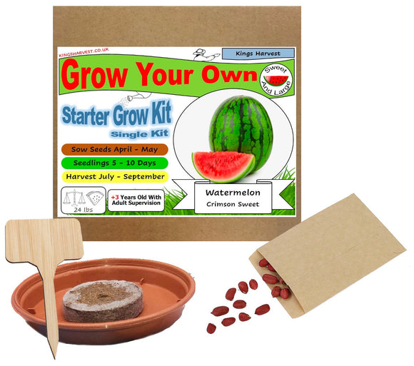 Grow Your Own Watermelon Kit - Single Kit