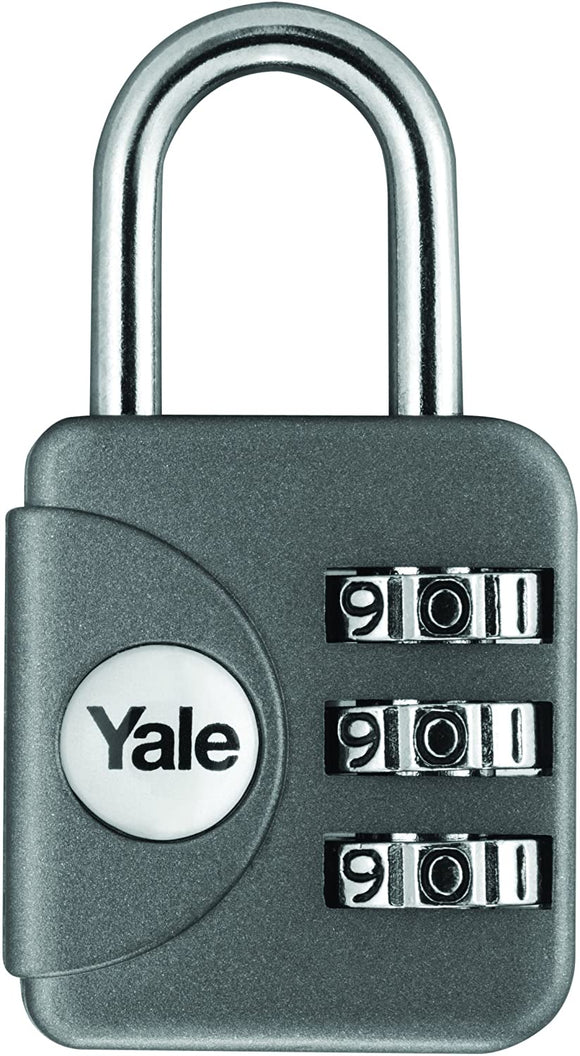 Yale YP1/28/121/1G Combination Travel Padlock (28 mm)