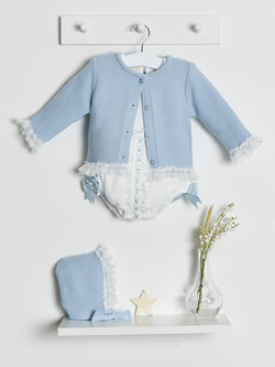 Caramelo kids 3 piece romper set - Rose & Albert