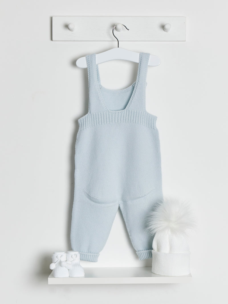 Wedoble Chunky Knitted Dungarees - Rose & Albert