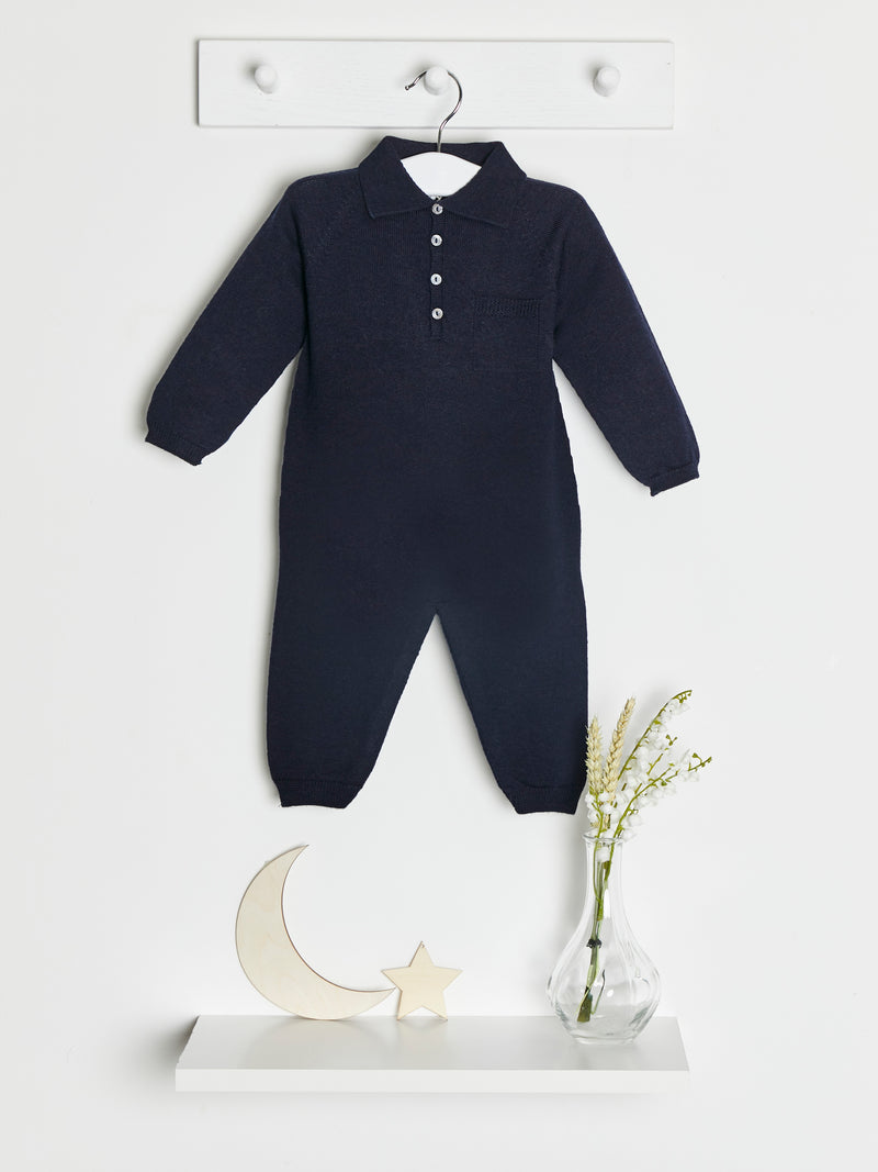 Wedoble knitted romper - Rose & Albert
