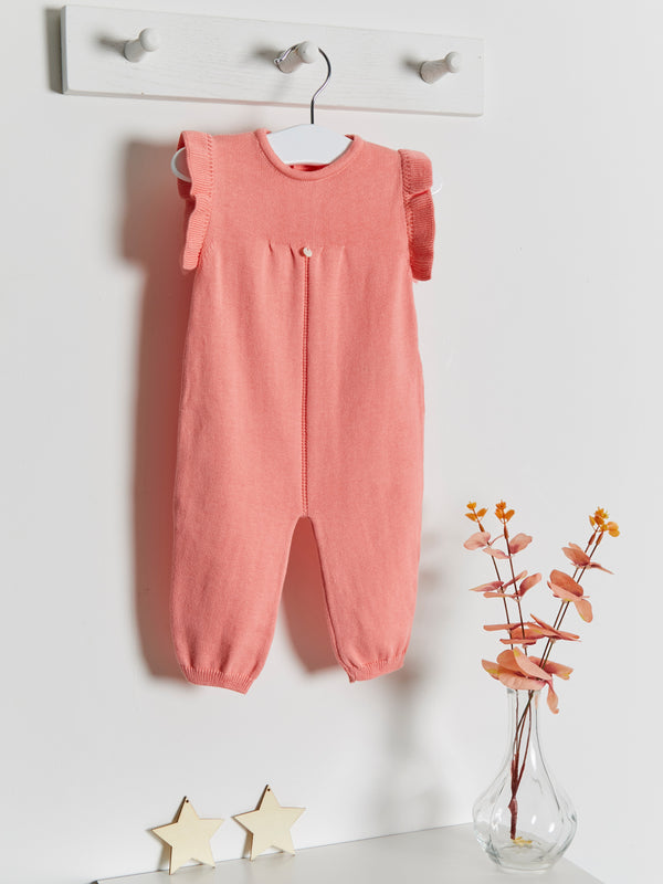 Wedoble frill sleeve jumpsuit - Rose & Albert