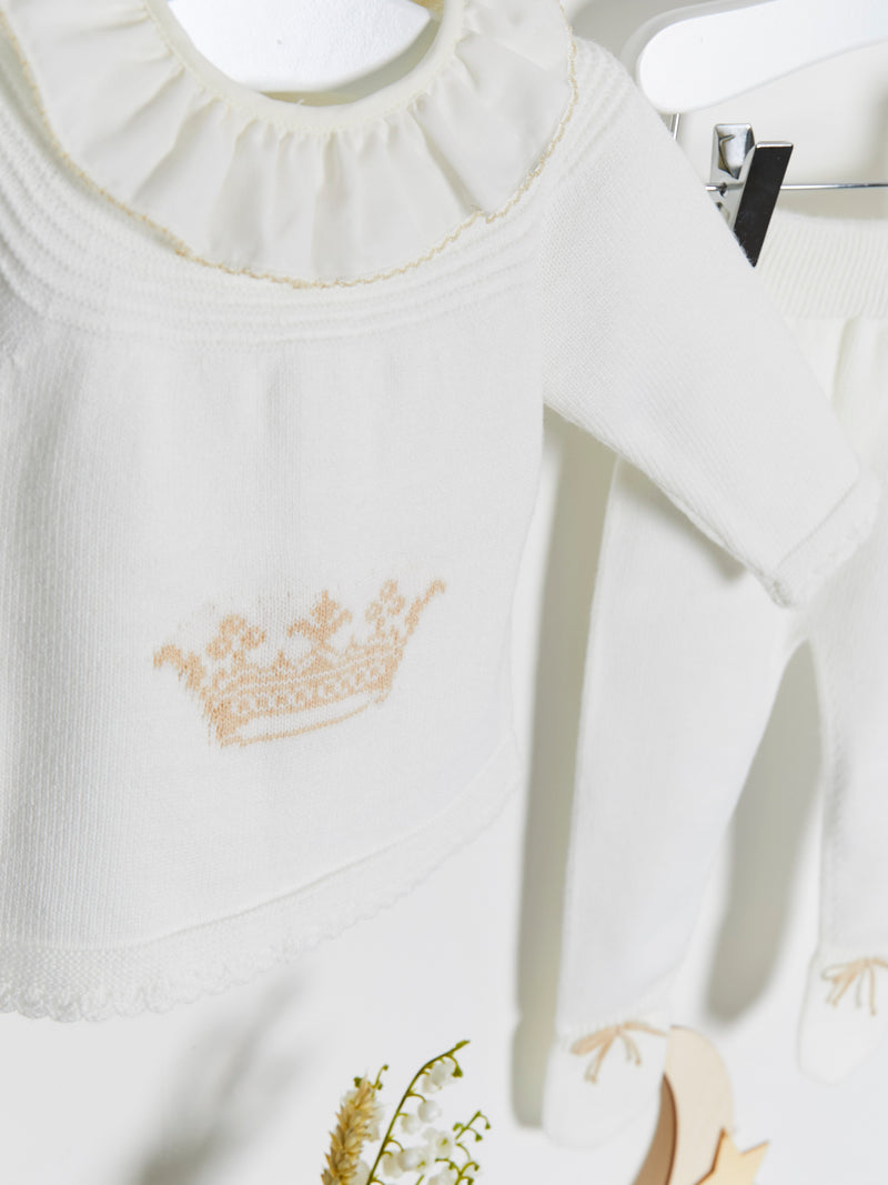 Granlei Royal Baby Knitted Set - Rose & Albert