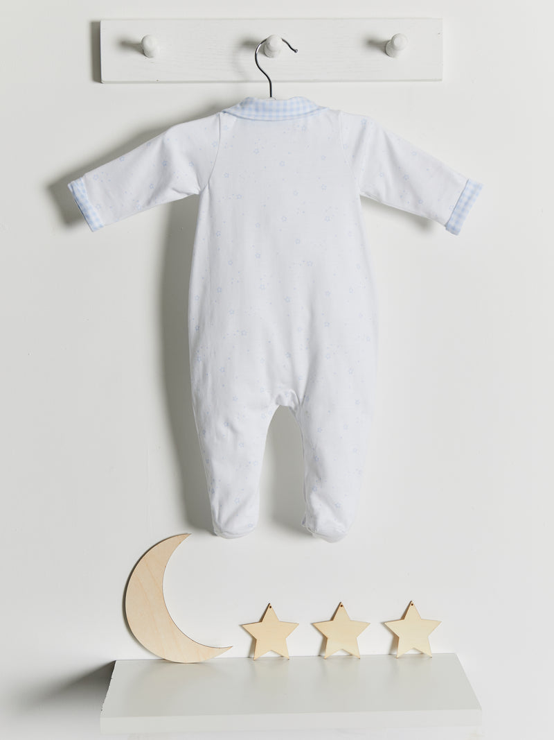 Babidu Star Babygrow - Rose & Albert