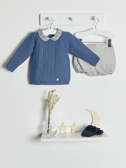 Granlei Knitted Jumper & Jam Pants - Rose & Albert
