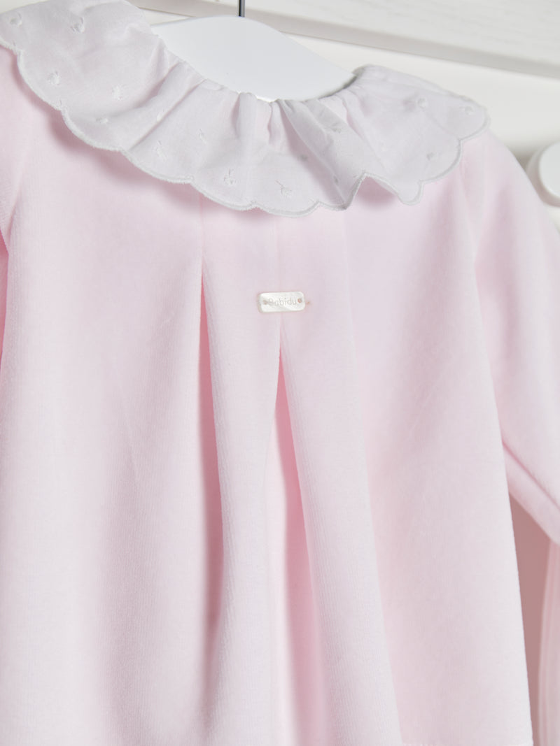 Babidu velour 2 piece set - Rose & Albert