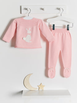 Granlei knitted bunny set - Rose & Albert