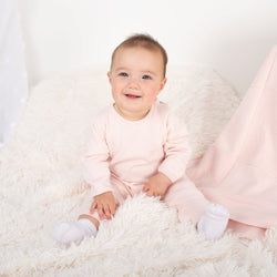 SS21 Caramelo Kids Embroidered Blanket - Pink