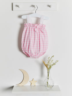 Calamaro gingham romper - Rose & Albert
