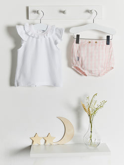 Babidu gingham jam pant set - Rose & Albert