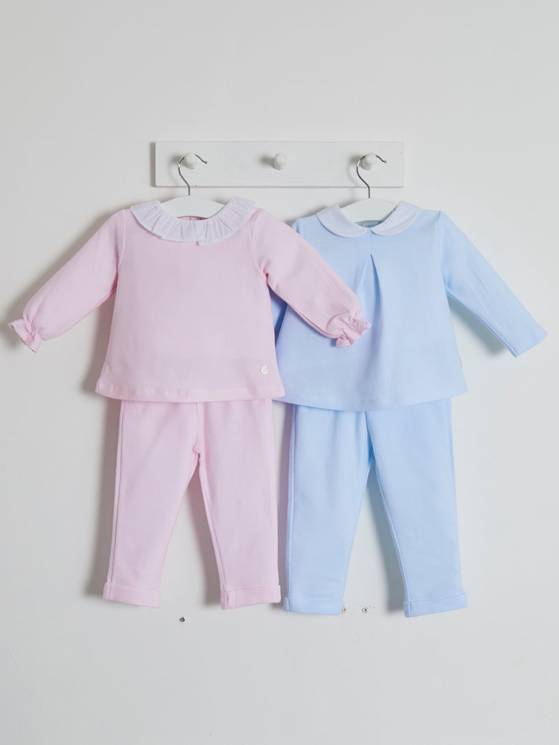 Babidu peter pan collar suit - Rose & Albert