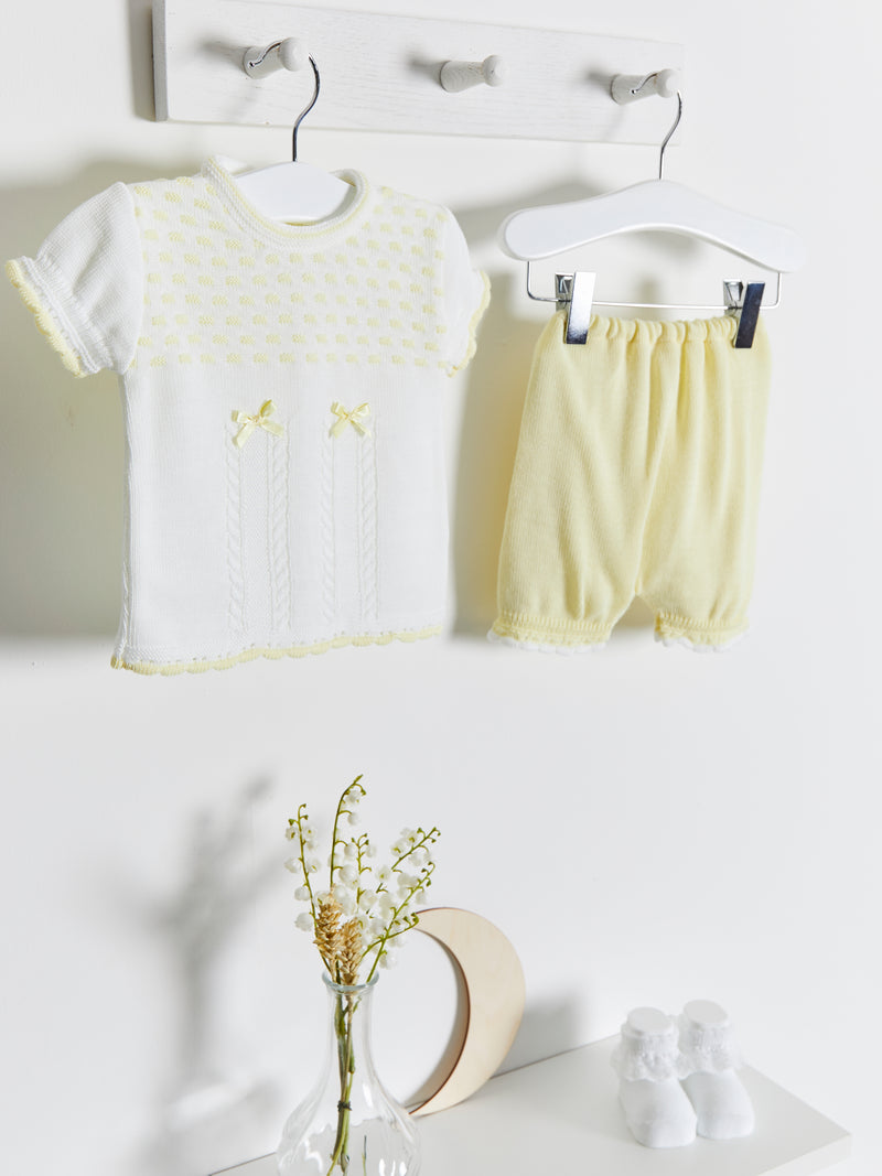 Dandelion knitted 2 piece set - Rose & Albert