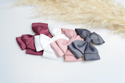 The Rose bow set by Bloom & Bow - Vintage 4 pack